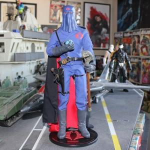 Sideshow Cobra Commander world